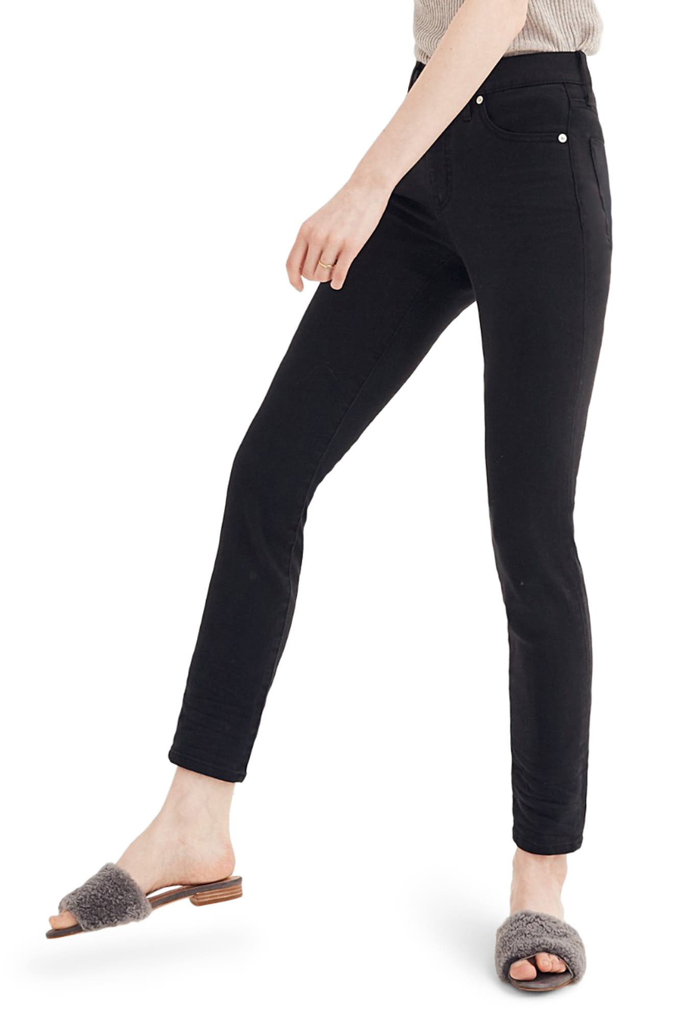 9-Inch High Rise Skinny Jeans