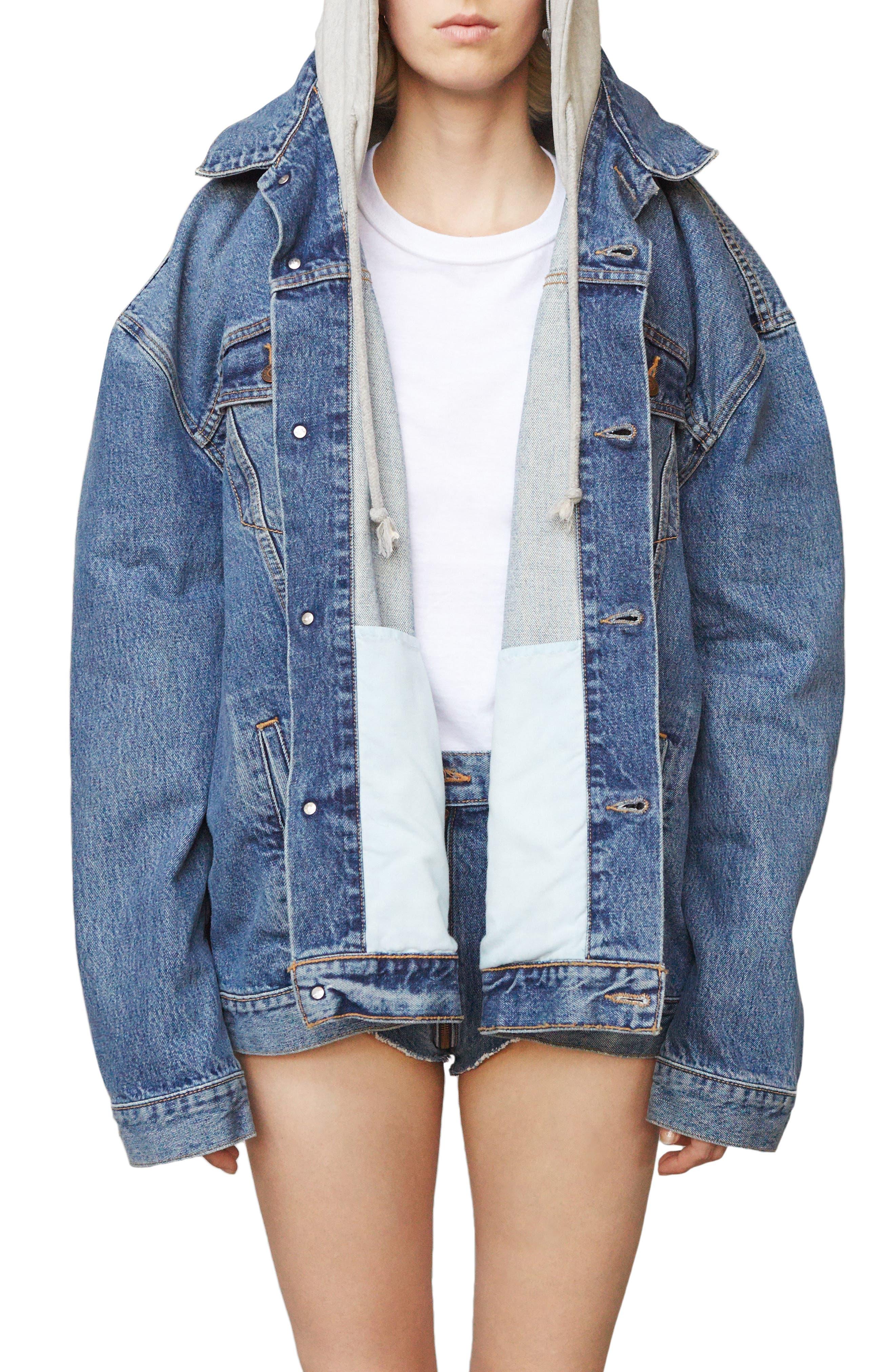 ,                             x Levi's<sup>®</sup> Denim Jacket,                             Main thumbnail 1, color,                             400