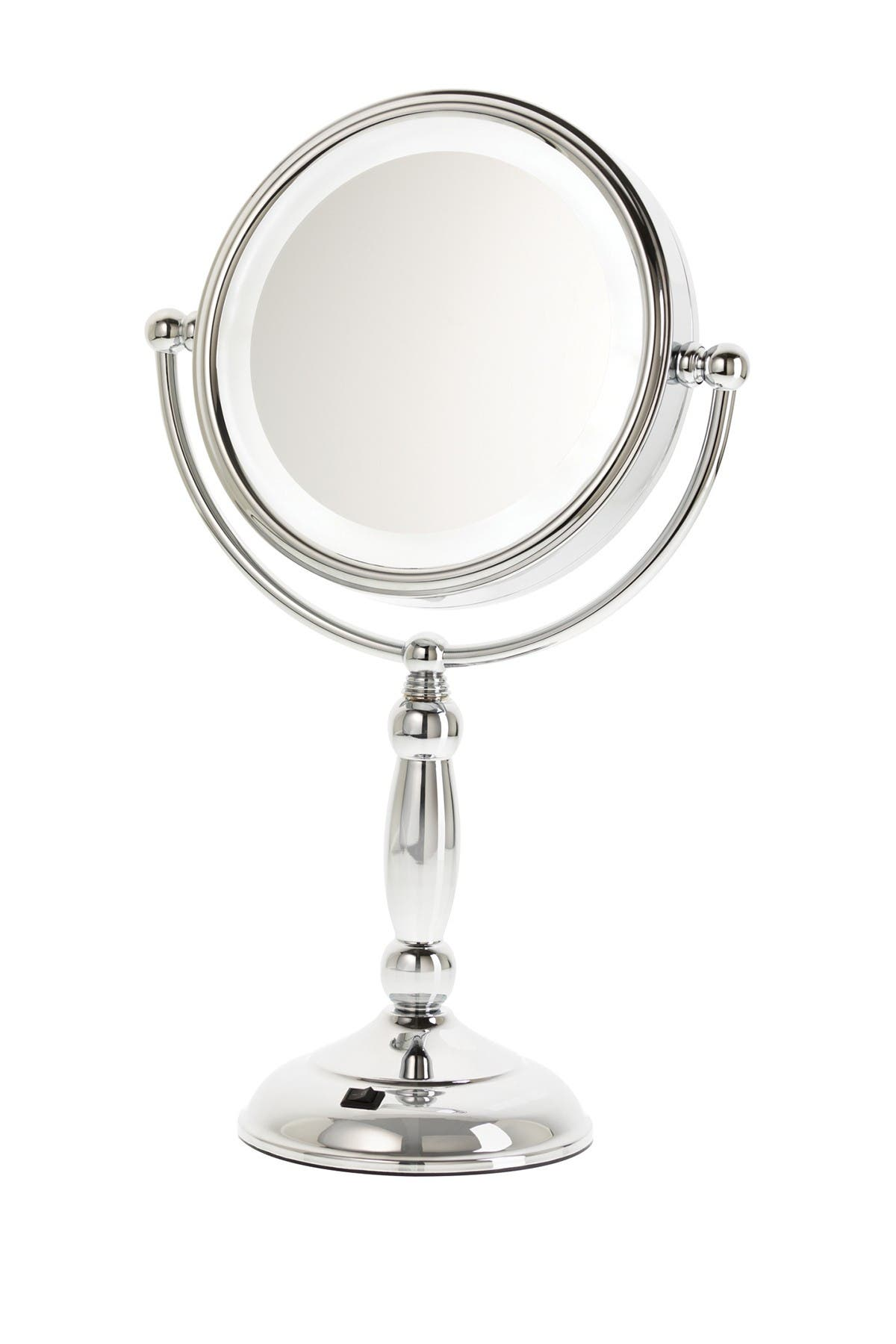 Image of UPPER CANADA SOAPS Danielle LED Touch Dimmer Chrome Vanity Mirror