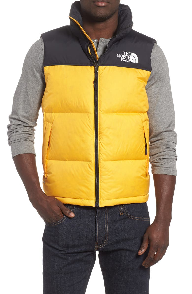 THE NORTH FACE Nuptse 1996 Packable Quilted Down Vest, Main, color, TNF YELLOW