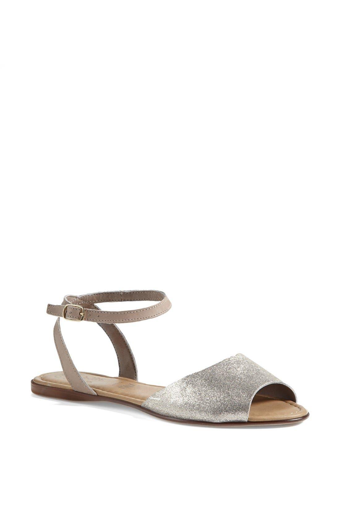 ,                             'Brand New' Ankle Strap Calf Hair Sandal,                             Main thumbnail 5, color,                             061