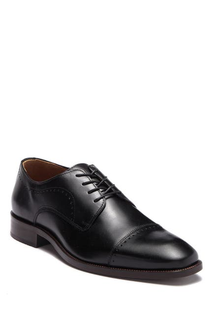 Image of Johnston & Murphy Sanborn Cap Toe Derby
