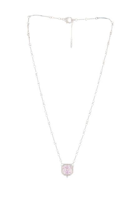 Image of Judith Ripka Sterling Silver Estate Pendant Necklace