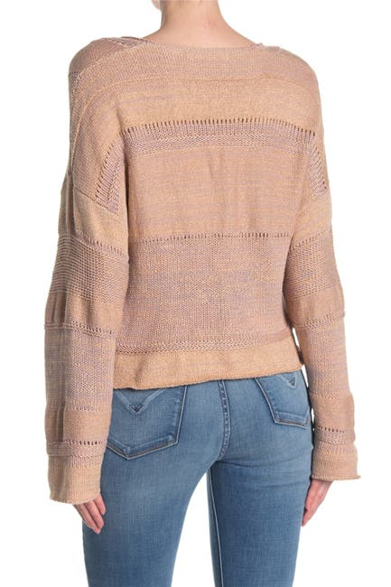 Image of Mustard Seed Cropped Knit Sweater