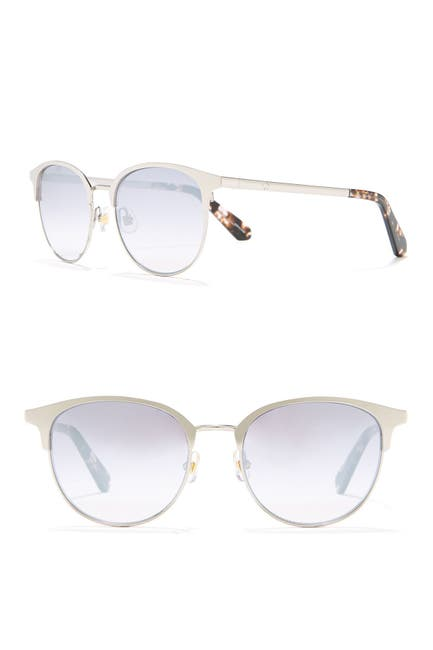 Image of kate spade new york joelynn 52mm round sunglasses