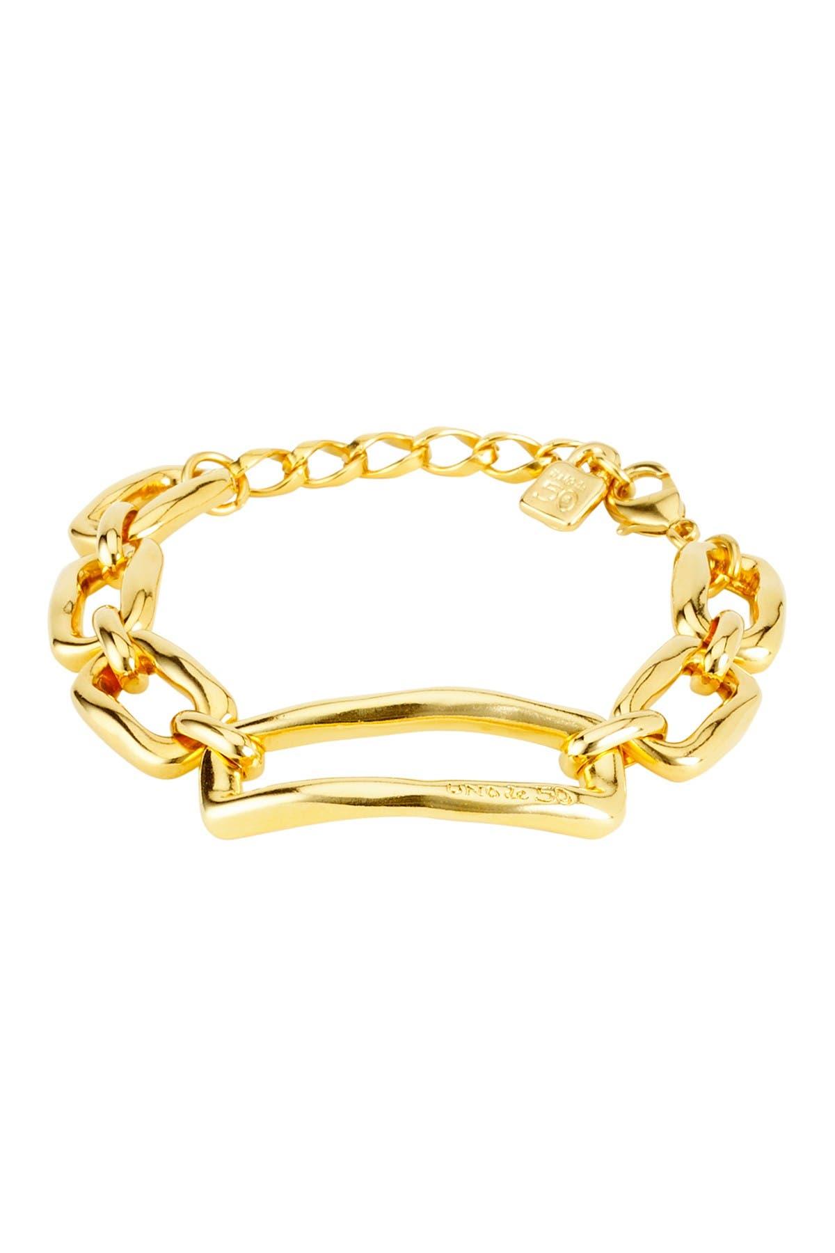 Image of Uno De 50 Chain By Chain Bracelet