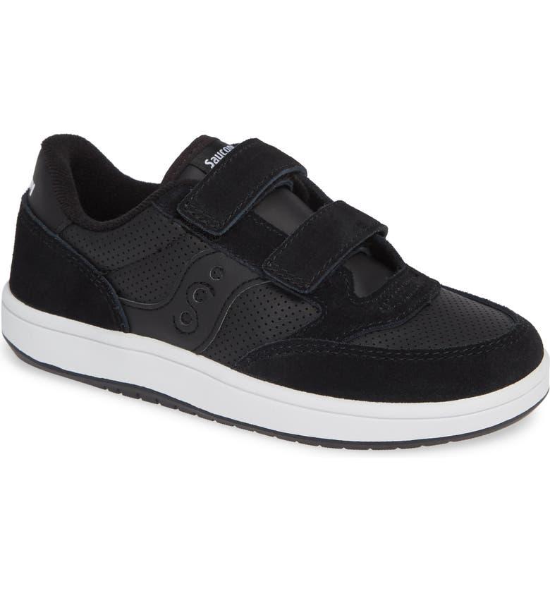 SAUCONY Jazzy Court Sneaker, Main, color, 001