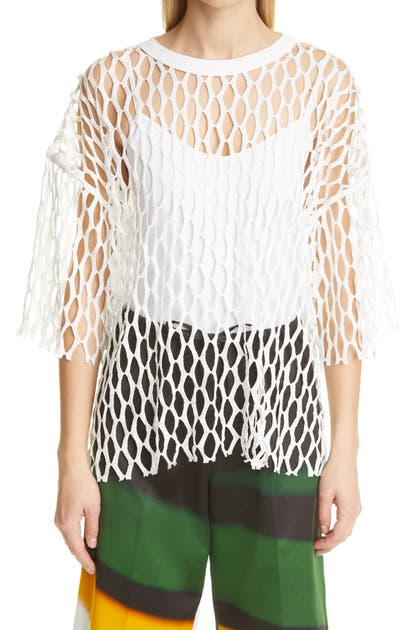 Dries Van Noten HENAND CUTOUT TOP
