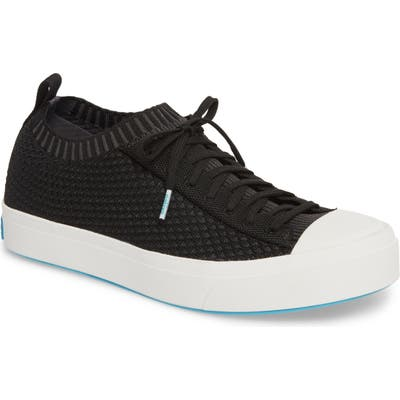 Native Shoes Jefferson 2.0 Liteknit Lace-Up Sneaker, Black