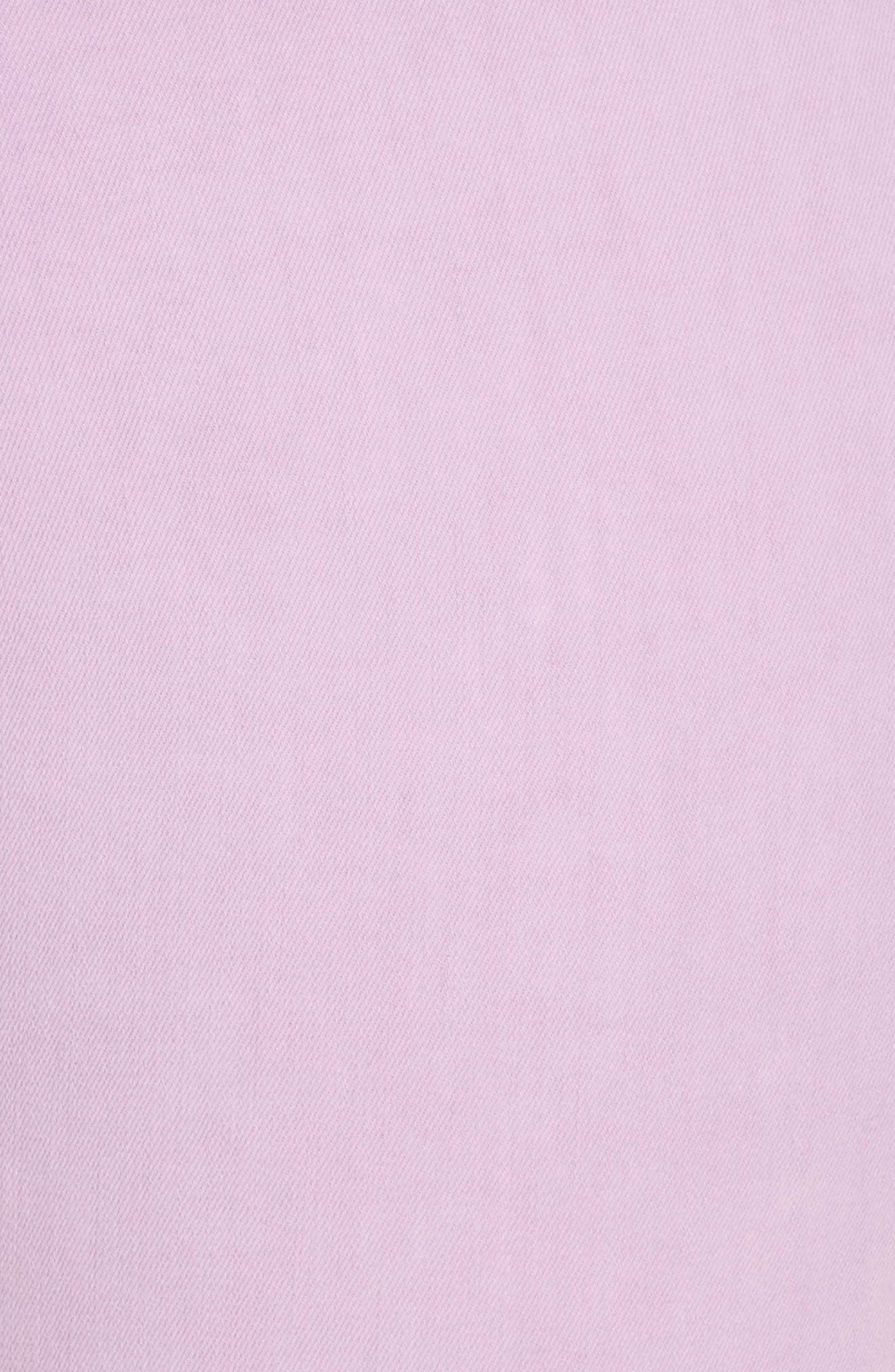 ,                             Good Legs High Waist Crop Skinny Jeans,                             Alternate thumbnail 6, color,                             LAVENDER001