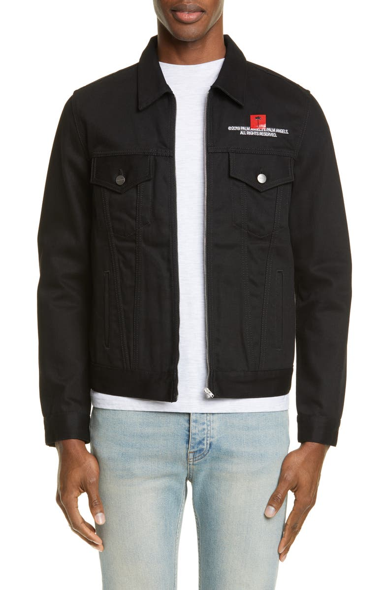 X Palm Angels Trucker Jacket by Palm Angels