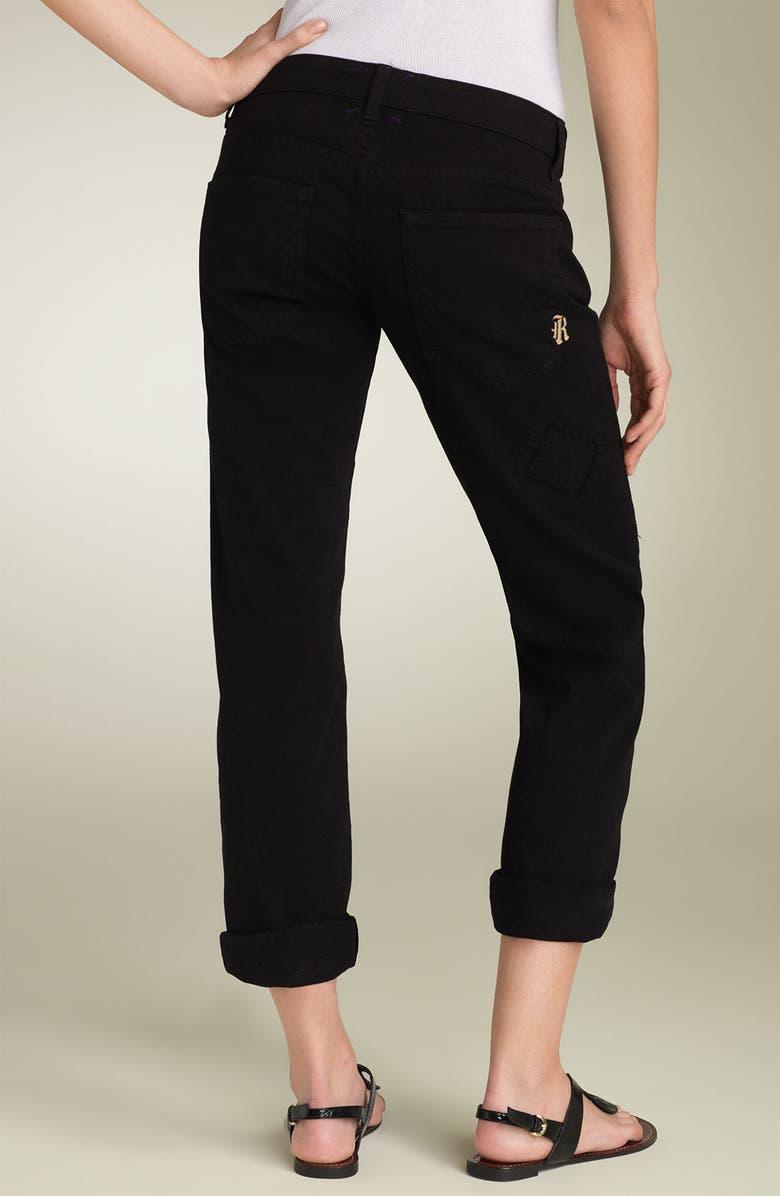 RICH & SKINNY Stretch Boyfriend Jeans, Main, color, 001