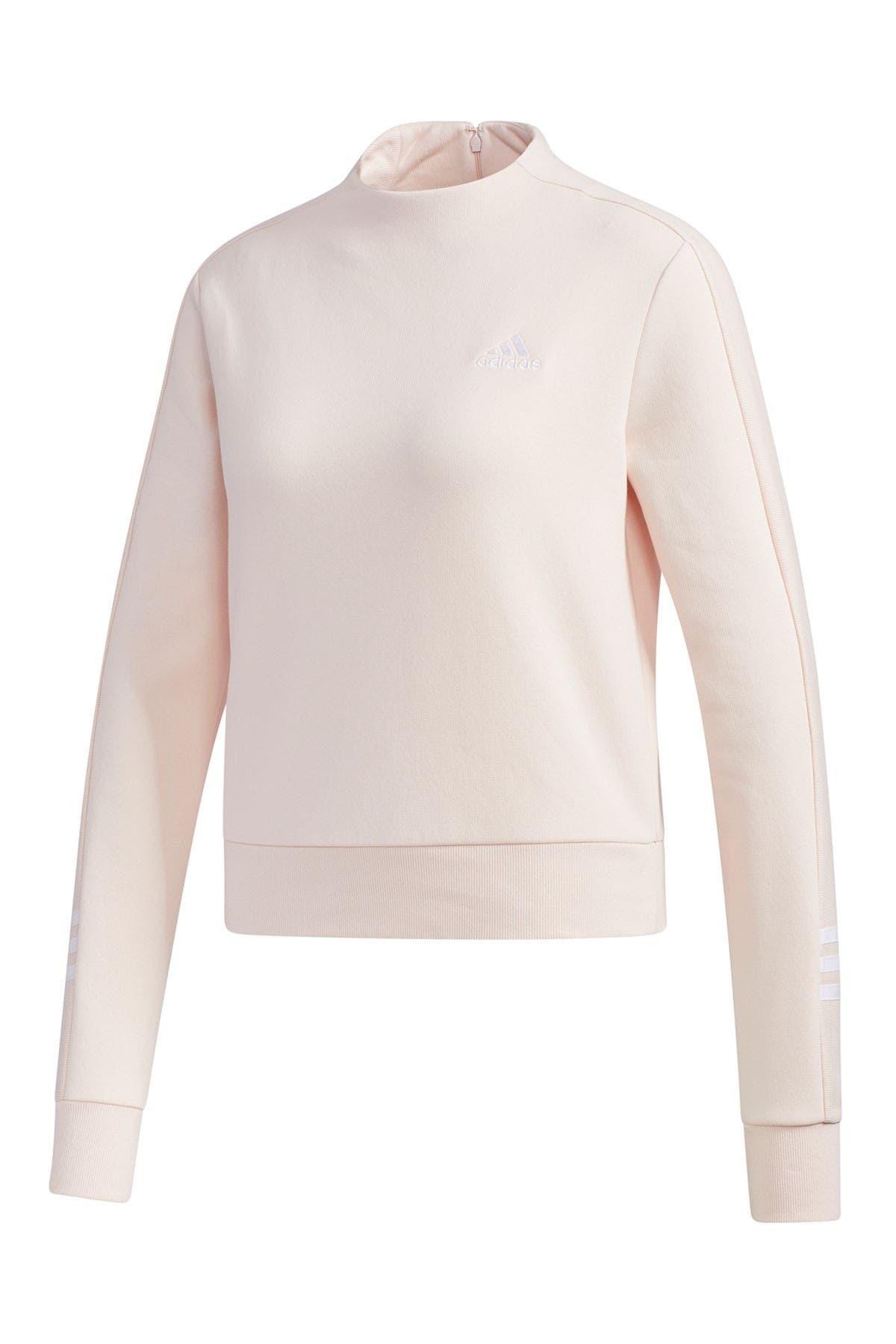 Image of adidas Mock Neck Sweater