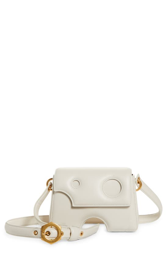 Off-White Leathers BURROW 22 LEATHER SHOULDER BAG