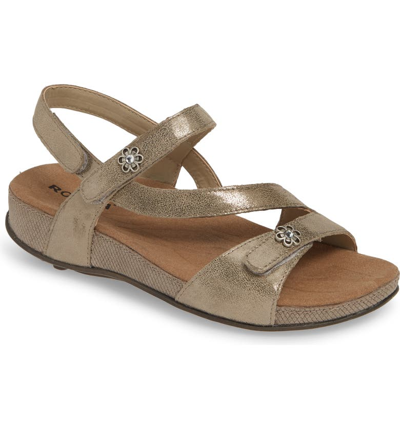 ROMIKA<SUP>®</SUP> Fidschi 54 Sandal, Main, color, BRONZE LEATHER
