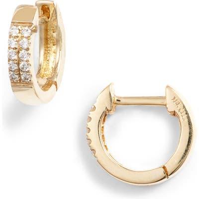 Bony Levy Diamond Huggie Hoop Earrings (Nordstrom Exclusive)