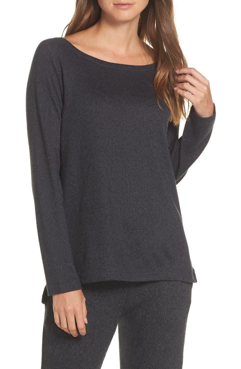 FELINA Riley Sweater Knit Lounge Top, Main, color, 020