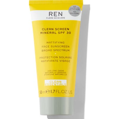Ren Clean Skincare Clean Screen Mineral Spf 30 Sunscreen