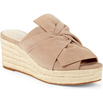 Sole Society Carima Espadrille Wedge, Brown
