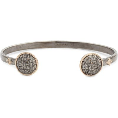 Armenta New World Pave Diamond Cuff Bracelet