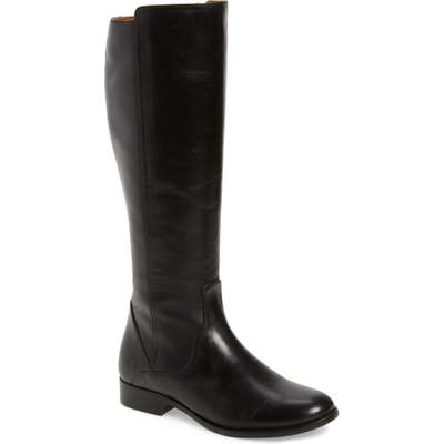 Frye Carly Tall Boot Regular Calf- Black