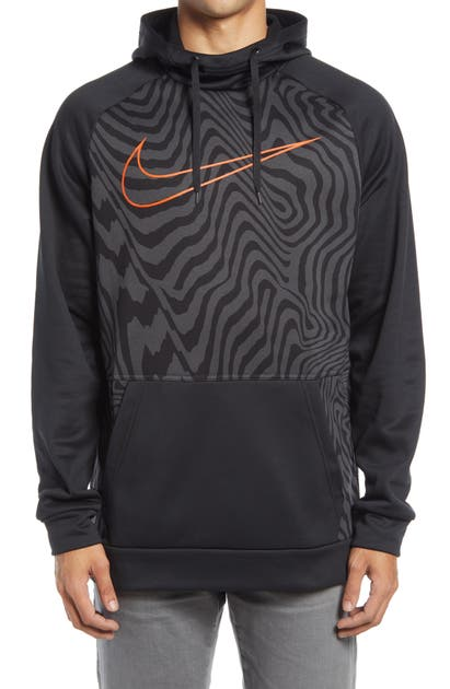 NIKE DRI-FIT THERMA PULLOVER TRAINING HOODIE