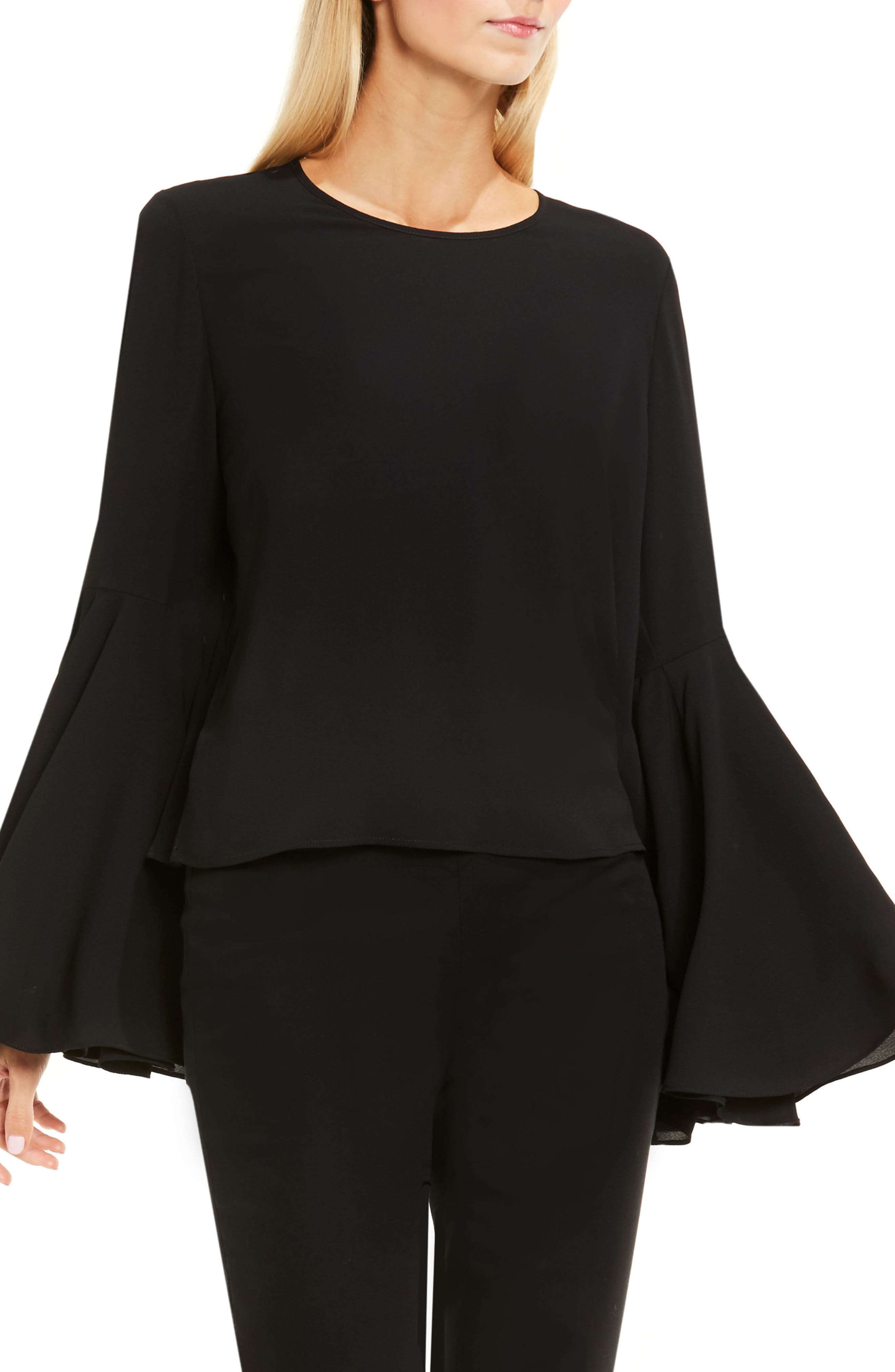 ,                             Bell Sleeve Blouse,                             Main thumbnail 16, color,                             006