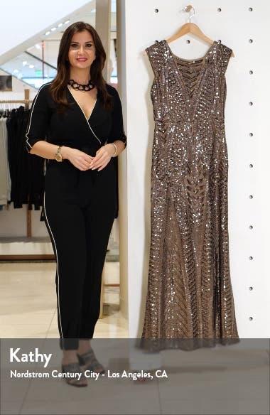 Art Deco Sequin Gown, sales video thumbnail