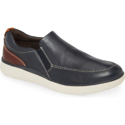 Johnston & Murphy Farley Slip-On- Blue