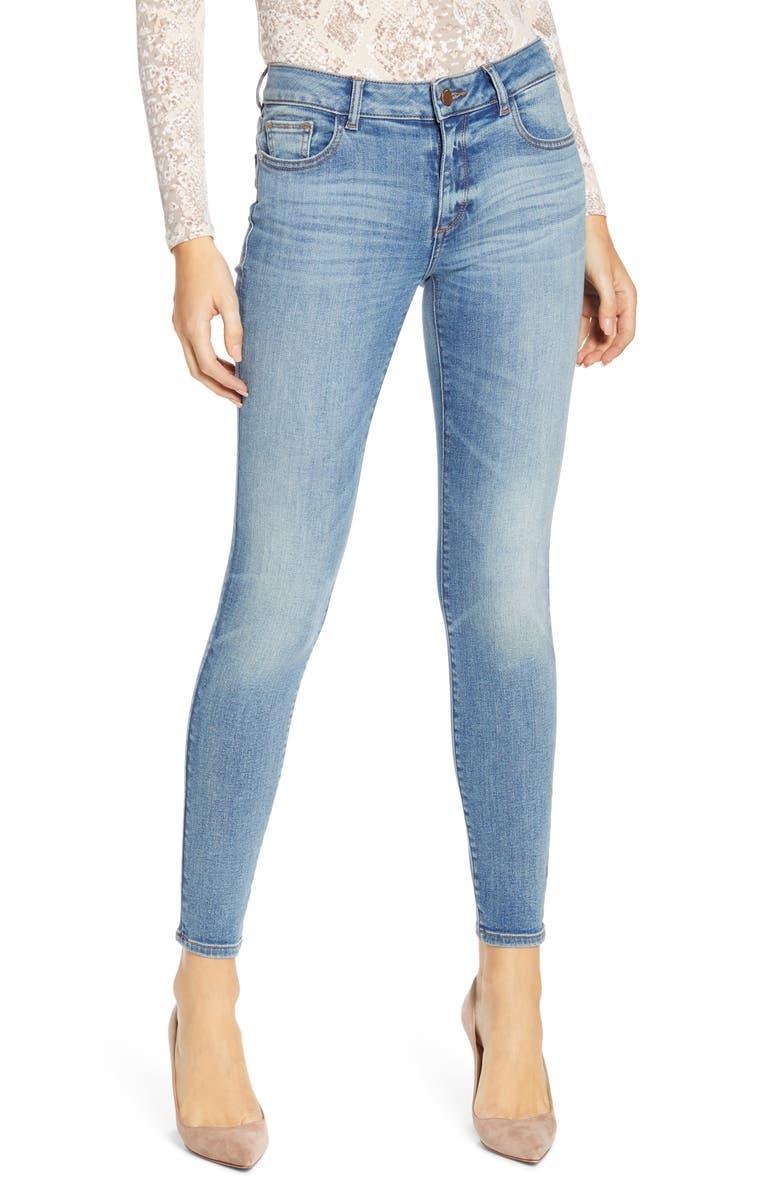 DL1961 Emma Ankle Skinny Jeans, Main, color, 425