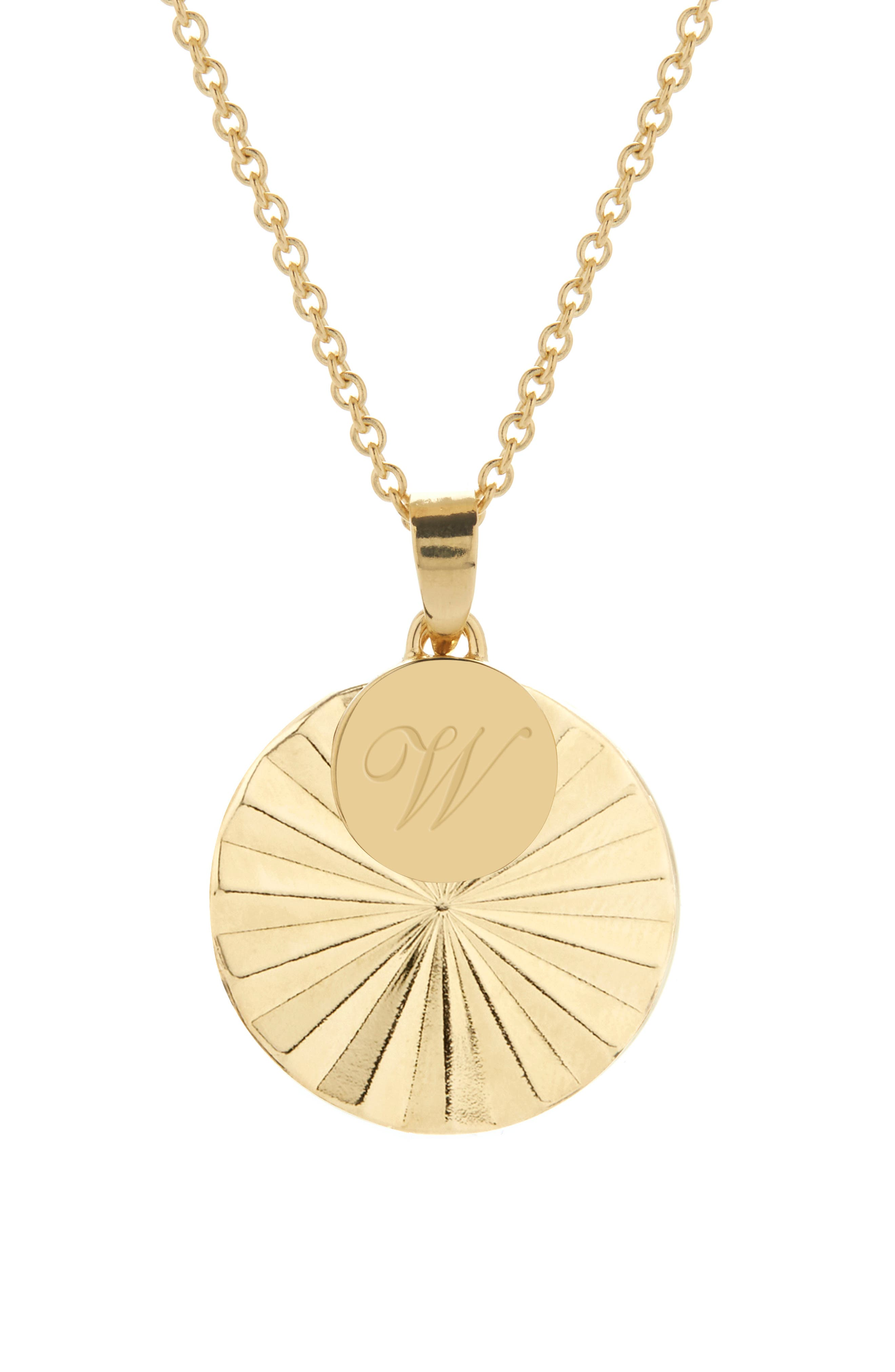 Celeste Initial Charm Pendant Necklace
