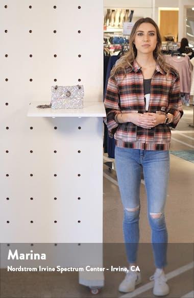 Mini Kensington Sequin Crossbody Bag, sales video thumbnail