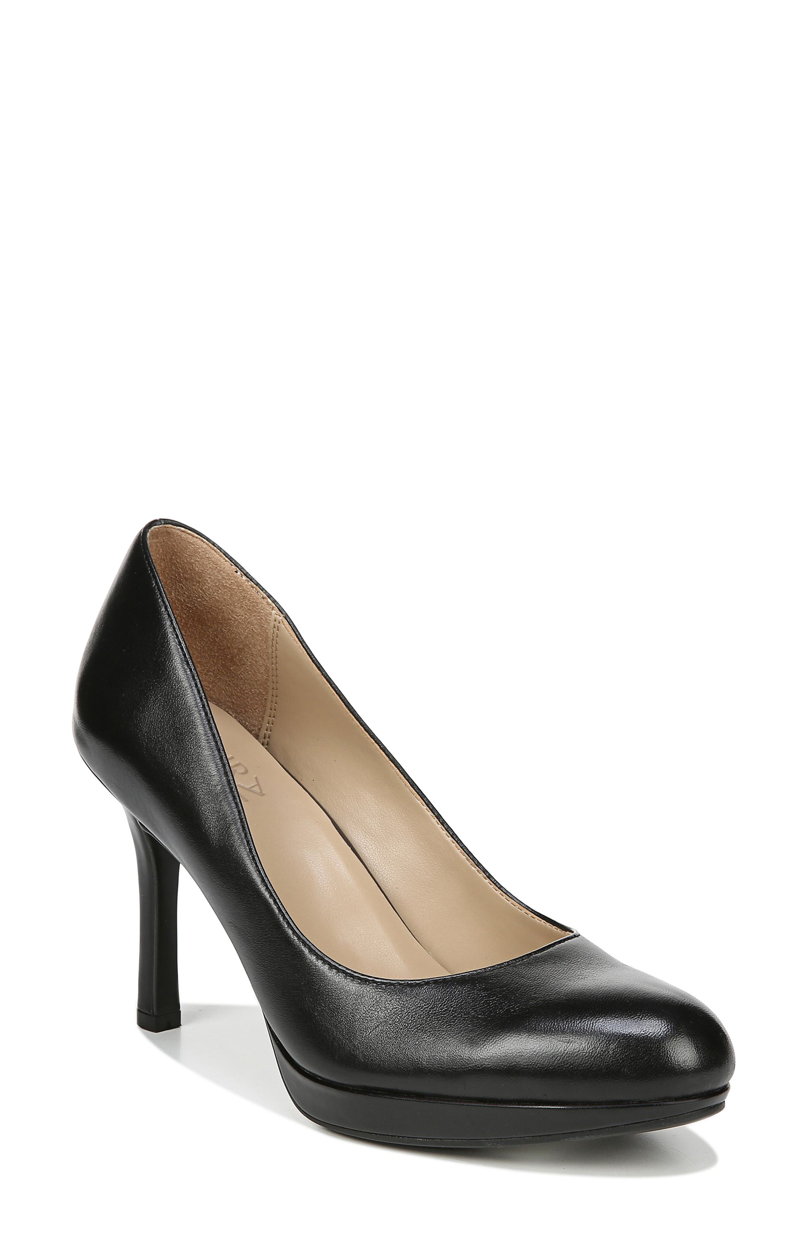 Naturalizer Celina Almond Toe Pump- Black