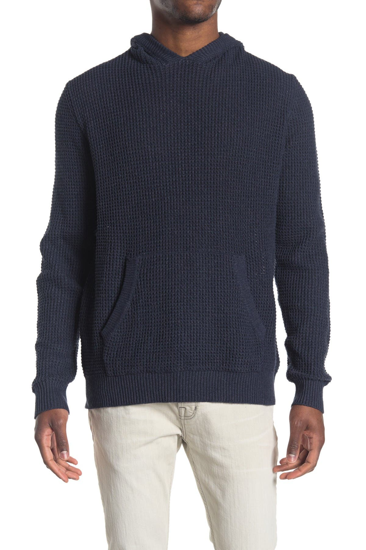 Image of HEDGE Knit Pullover Hoodie