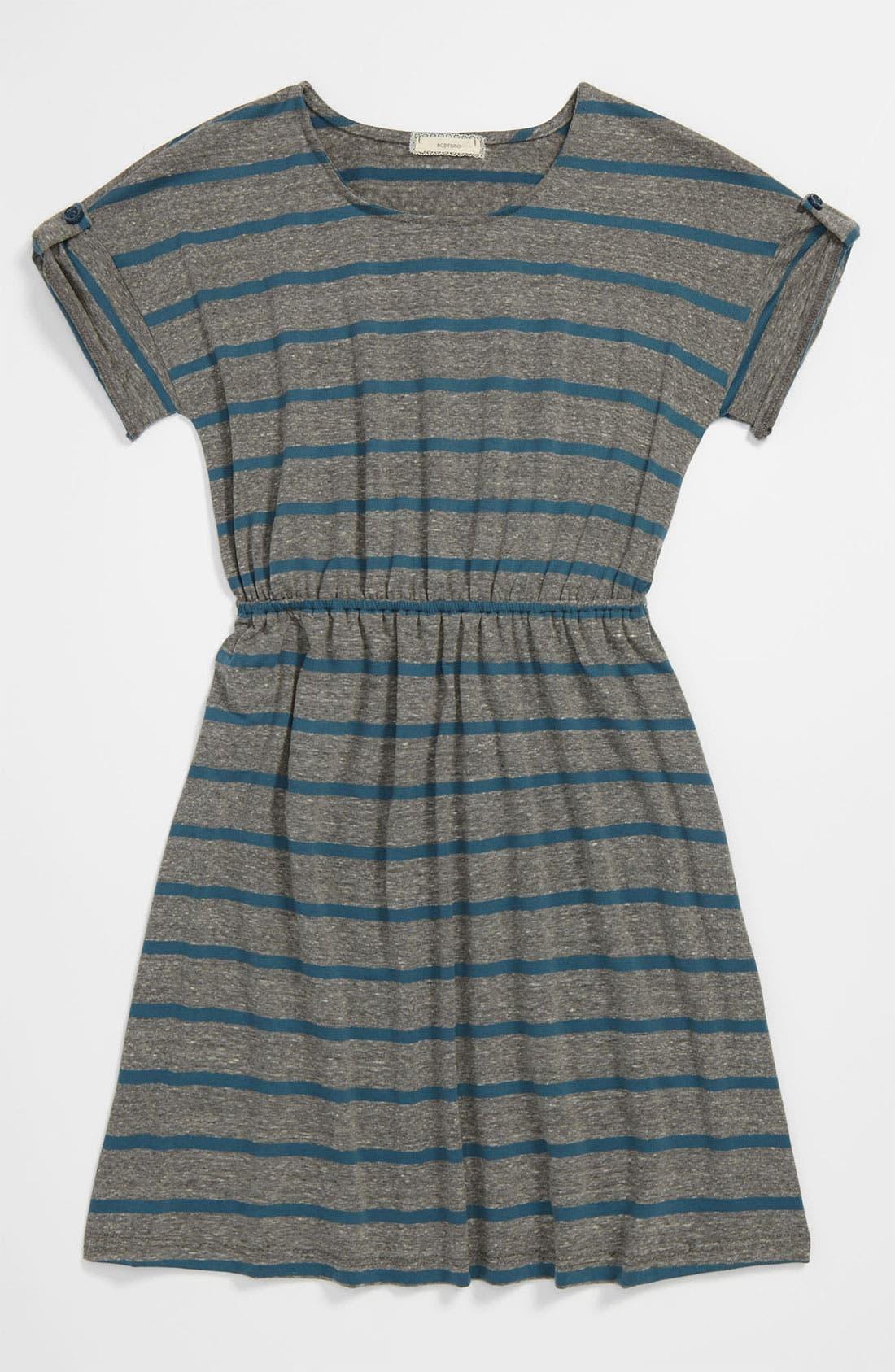 ,                             Stripe Dress,                             Main thumbnail 1, color,                             472