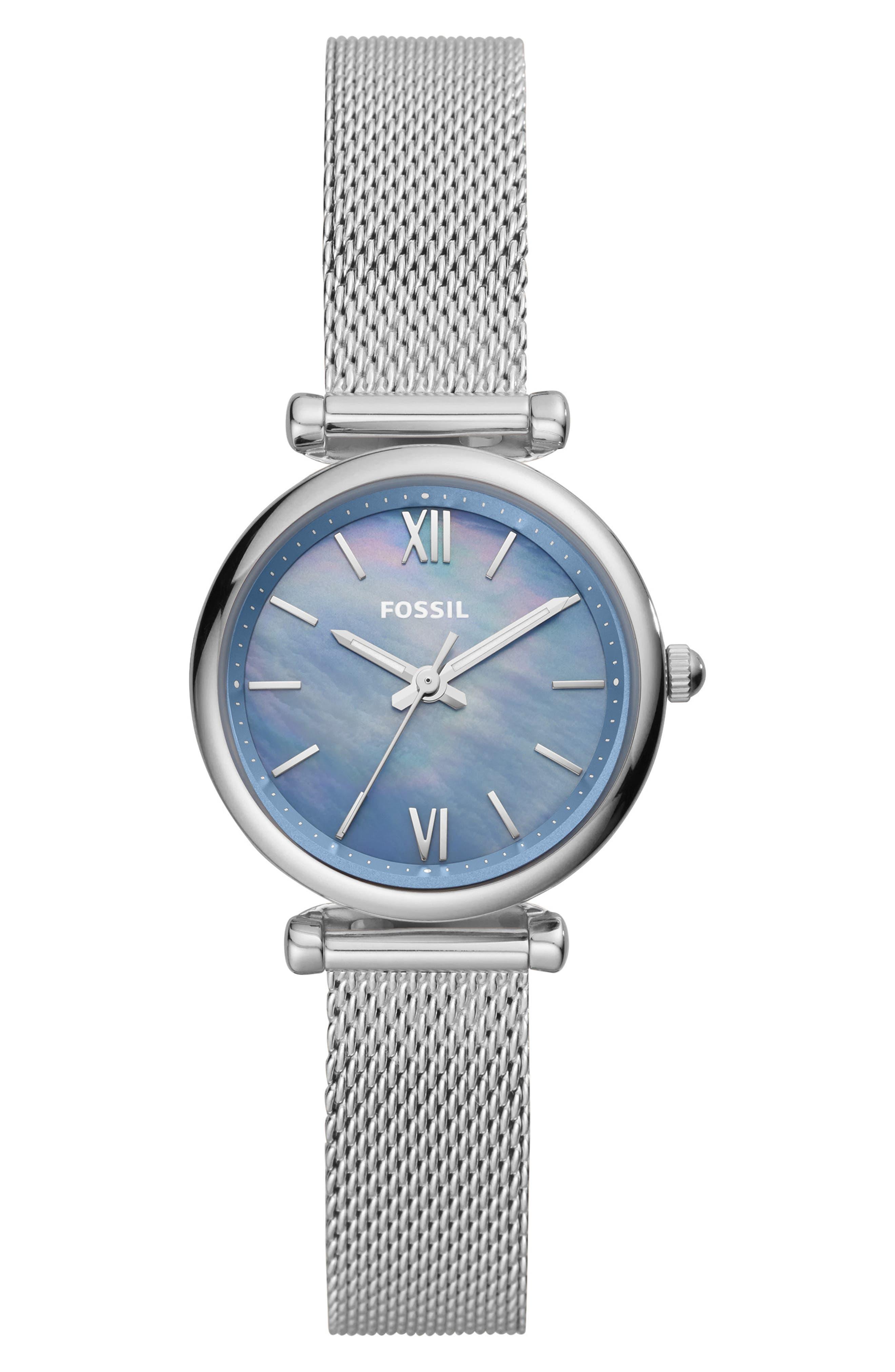 Women's Carlie Mini Mesh Bracelet Watch
