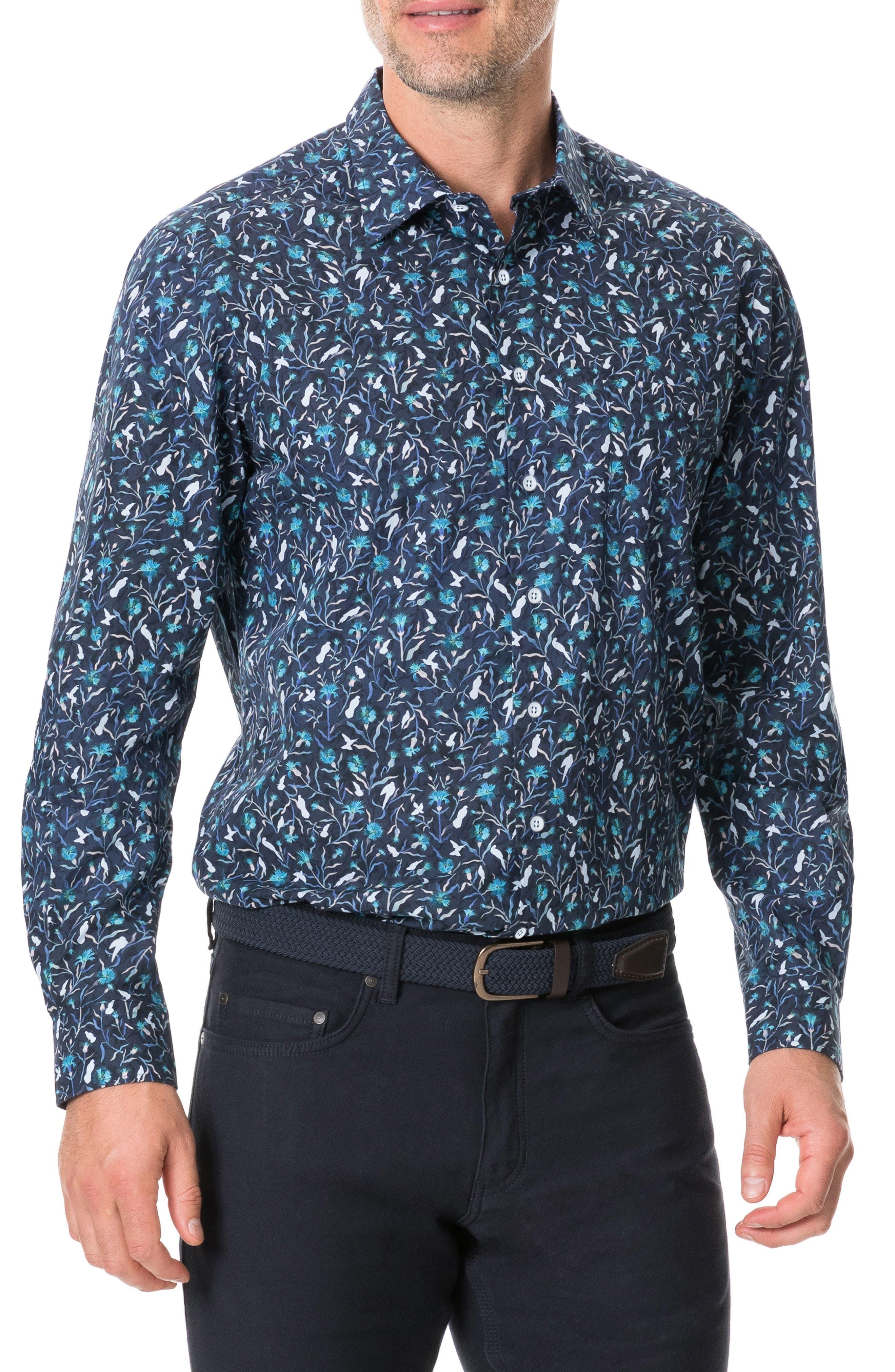 Image of RODD AND GUNN View Hill Regular Fit Shirt