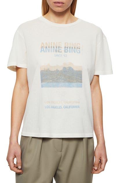 Anine Bing DESERT ROAD GRAPHIC TEE