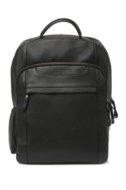 Image of BOSCA Leather Backpack
