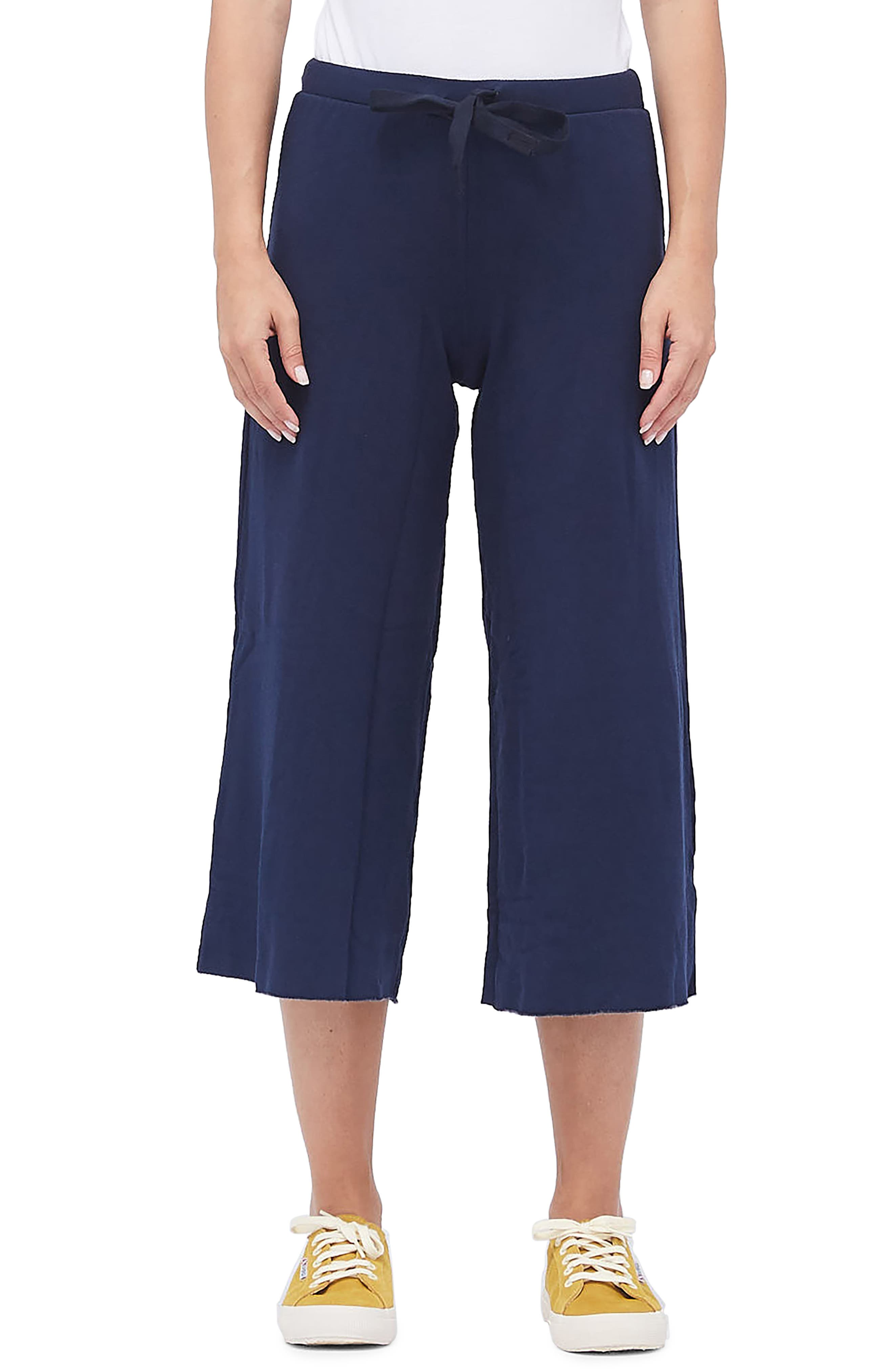 Stateside Crop Sweatpants, Blue