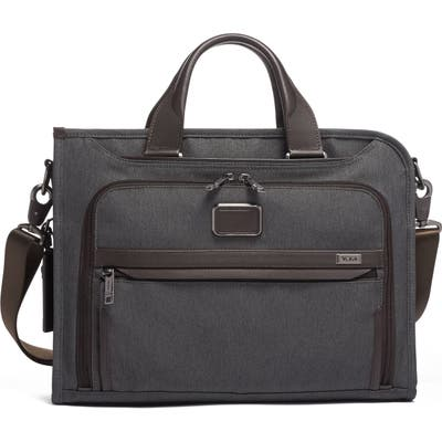 Tumi Alpha 3 Collection Slim Deluxe Portfolio - Grey