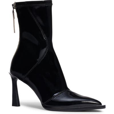 Fendi Tronchetto Pointed Toe Boot - Black