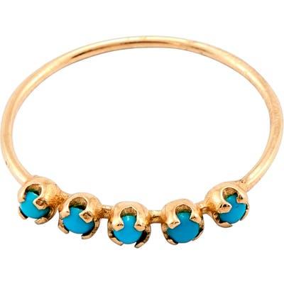Loren Stewart Turquoise Cinq Ring