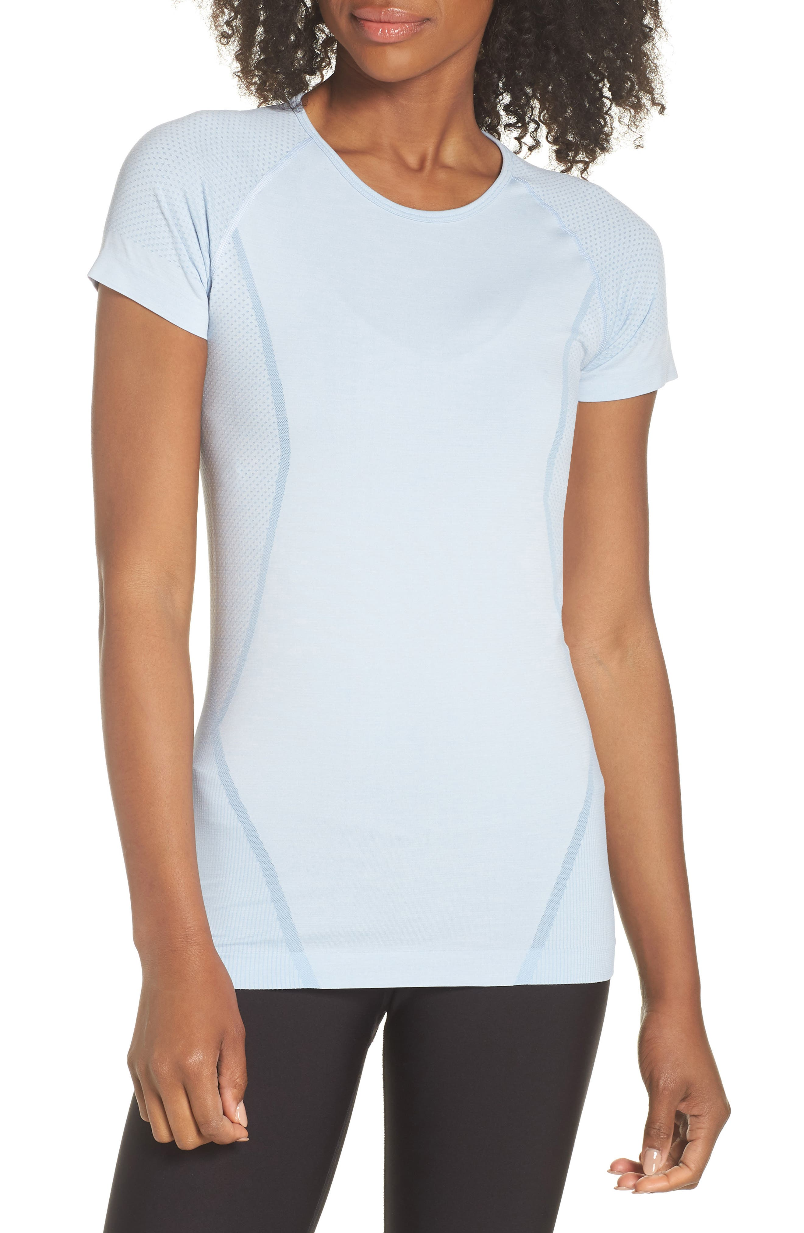 ,                             Stand Out Seamless Training Tee,                             Main thumbnail 14, color,                             450