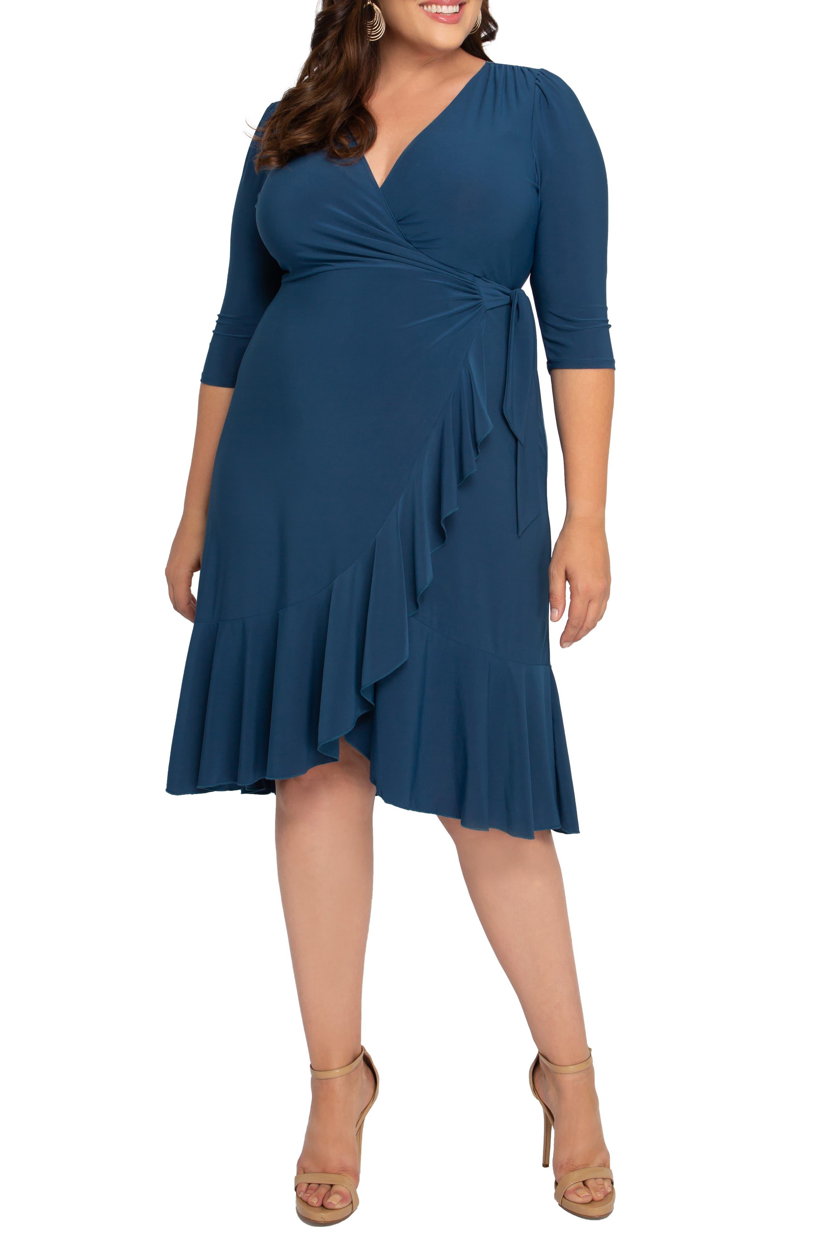 Whimsy Wrap Dress