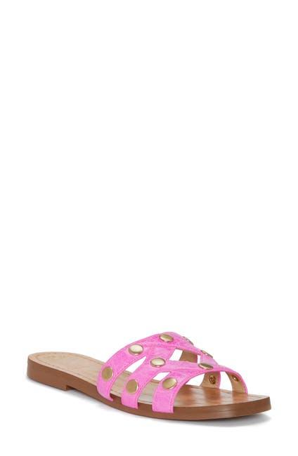 Image of Vince Camuto Vazista Studded Slide Sandal