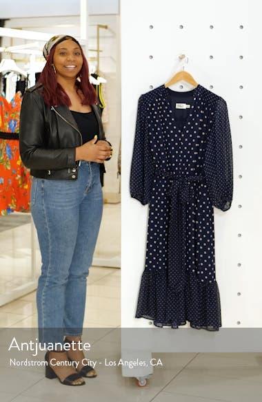 Polka Dot Chiffon Dress, sales video thumbnail