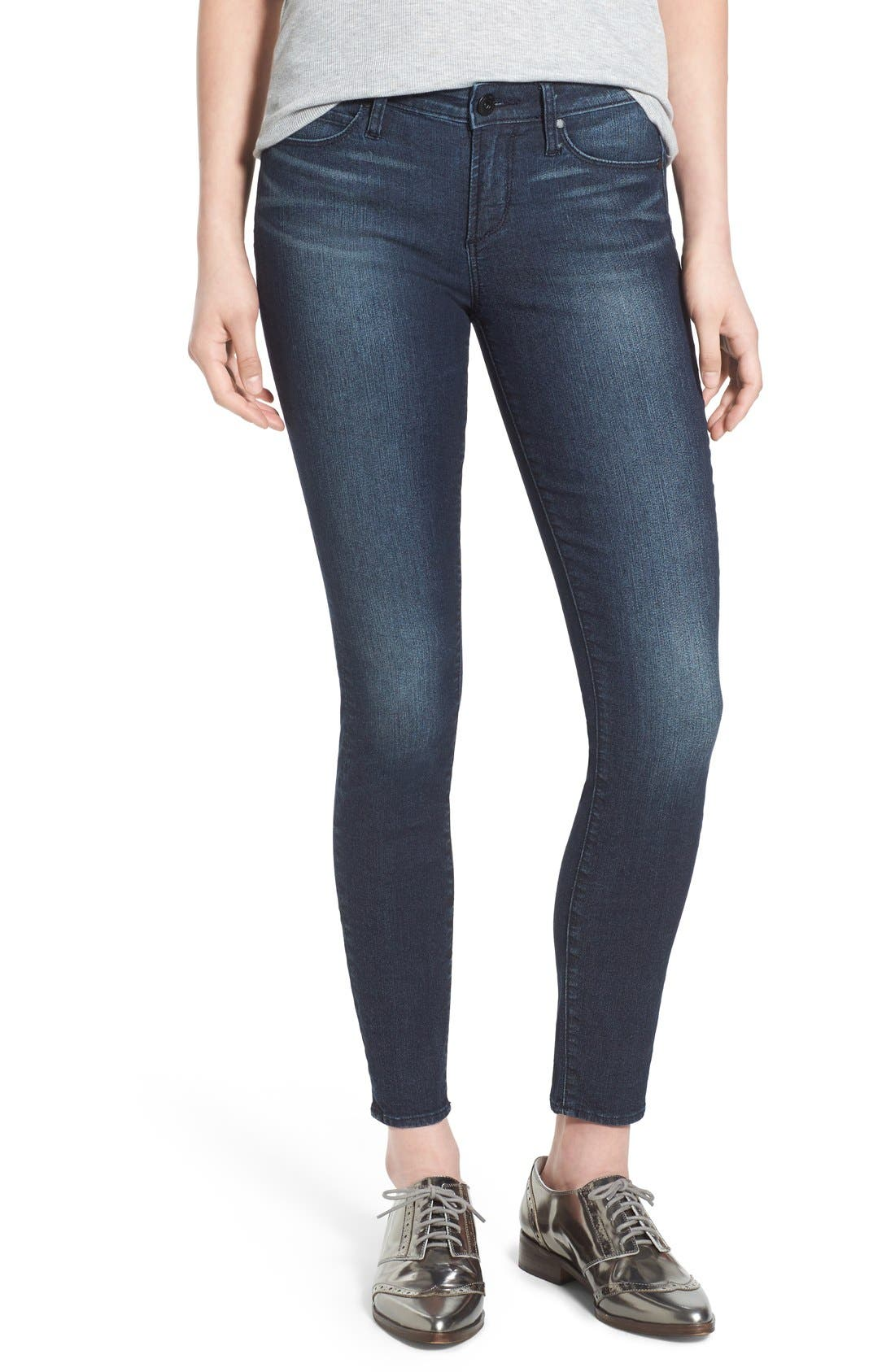 ,                             'Sarah' Skinny Jeans,                             Main thumbnail 1, color,                             415