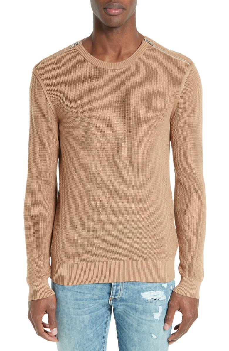 THE KOOPLES Zip Pullover, Main, color, 250