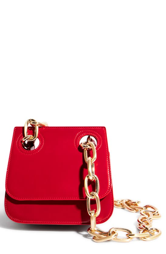 "House Of Want ""h.o.w."" We Are Original Shoulder Bag In Red"